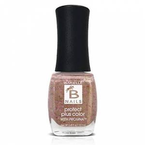 Barielle Golden Halo (A Gold With Pink Glitter) - Protect+ Nail Color w/ Prosina