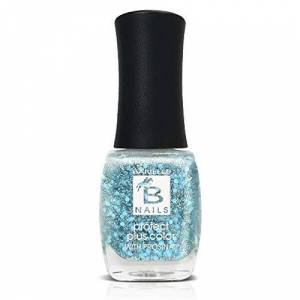 Barielle Mermaid's Fin (An Aqua Iridescent Glitter) - Protect+ Nail Color w/ Prosina