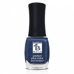 Barielle Jordana's Skinny Jeans (A Frosted Sapphire Blue) - Protect+ Nail Color w/ Prosina