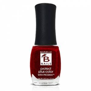 Barielle Elle's Spell (A Jelly Red w/ Colored Foil Flakes) - Protect+ Nail Color w/ Prosina
