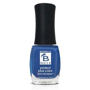 Barielle Falling Star (A Marine Blue w/ Gold Glitter) - Protect+ Nail Color w/ Prosina