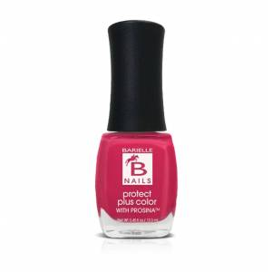 Barielle Barefoot in Bermuda (Creamy Hot Pink) - Protect+ Nail Color w/ Prosina