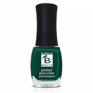 Barielle Born 2 B Naughty (A Creamy Winter Green) - Protect+ Nail Color w/ Prosina