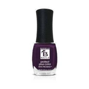 Barielle Edgy (A Deep Purple) - Protect+ Nail Color w/ Prosina