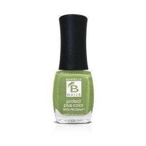 Barielle Myrza's Meadow (A Lime Green With Silver Glitter) - Protect+ Nail Color w/ Prosina