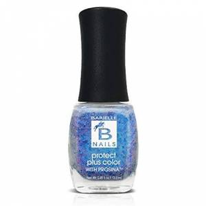 Barielle Shooting Star (A Metalic Blue/Purple Glitter) - Protect+ Nail Color w/ Prosina
