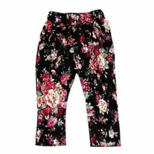 Overstock petite Baby Girls Sleeveless Shirt/Tops + Floral Pants + Hair Band Set Clothes (140), Kids Unisex(cotton)
