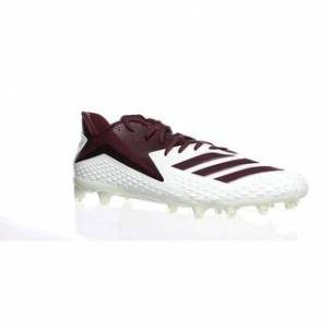 Adidas Mens Freak X Carbon Burgundy Football Cleats Size 18 (Medium - 18), Men's, Red(Synthetic)