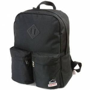Alpine Swiss Back Pack Bookbag School Bag Daypack Backpack Bag for Hikes Trips or Everyday - One Size (Black)