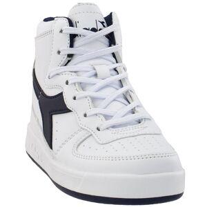 Diadora Boys Mi Basket (Little Kid) Casual Sneakers Shoes (12), Boy's(leather)