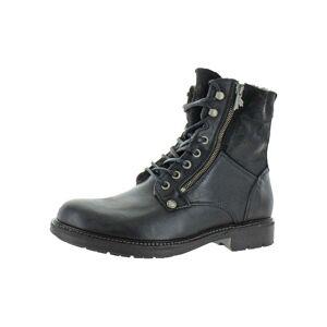Pajar Mens Morello Combat Boots Lace Up Ankle (Nero - 44 EU/11-11.5 US), Men's, Black