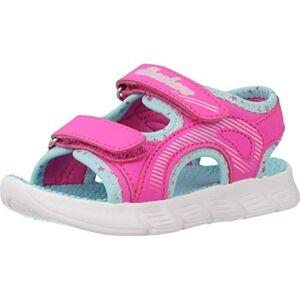 Skechers - Girls C-Flex Sandal- Star Zoom Shoe, Color: Hot Pink/Multi (7 M), Girl's