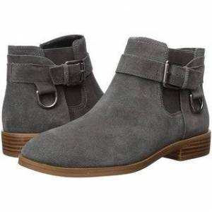 Aerosoles Women's Susan Ankle Boot (Grey Suede - 9.5), Gray