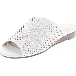 Aerosoles Women's Bitmap Slide Sandal (Bone Leather - 7 B(M) US), Ivory Leather