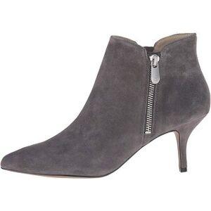 Adrienne Vittadini Womens Senji Leather Pointed Toe Ankle Fashion Boots (Night - 6), Women's, Black