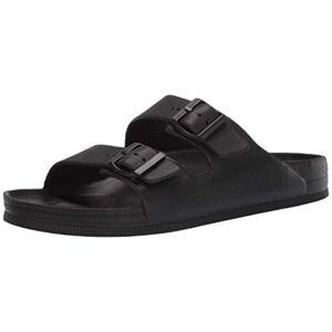 Skechers Men's Cali Gear Flat Sandal, Black (14)