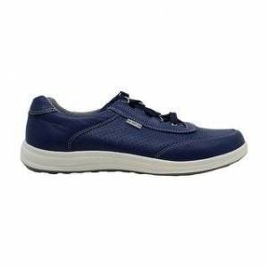 SAS Womens Sporty Low Top Lace Up Fashion Sneakers (Medium - Blue - 9.5), Women's