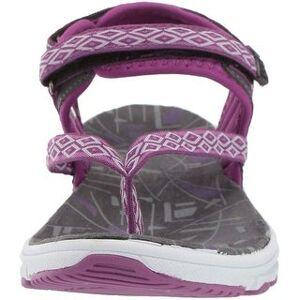 Kamik Women's Tampa Sport Sandal (8), Purple(leather)