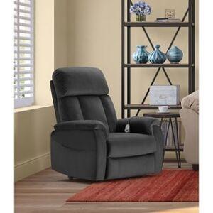 Samson ClickDecor Samson Power Lift Recliner Chair (Dark Grey), Gray(Metal)