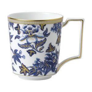 Wedgwood Hibiscus Mug 10 OZ (Blue - 1 Piece), Wedgwood(Bone China, Floral)