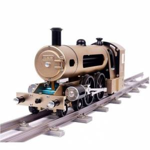 Steam train (Assembly Required - 5-7 Years), Silver