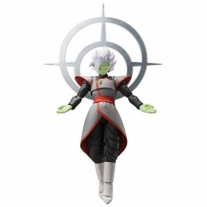 Bandai Dragon Ball Super Zamasu Potara Ver. SH Figuarts Action Figure, Black, Bandai