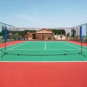 3M Portable Badminton Net Beach Volleyball Tennis Competition Training Net with Bag (Volleyball/Tennis), Black