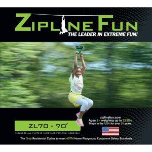 Adventure Parks Inc Adventure Parks Zipline 70, Green
