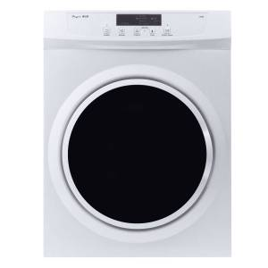 Pinnacle Appliances 3.5 ct. ft Front Load Dryer, White