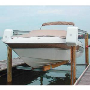 Doozie Boat Lifts Doozie Twin Drive Open Boat Lift, 8,000-lb. Capacity