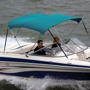 "Shademate Sunbrella Stainless 3-Bow Bimini Top 6'L x 36""H 73""-78"" Wide"