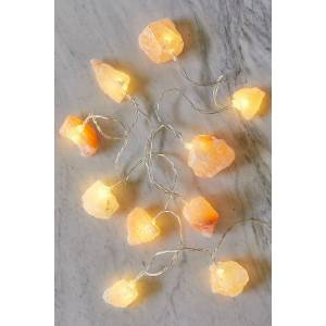 Free People Himalayan Salt Rock Lights by Free People, Himalayan, One Size