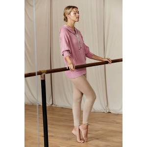 Free People Capezio Ultra Soft Body Tights by Free People, Latte, S-M/P-M