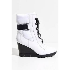 Sorel Joan Uptown Mid Lace Boots by Sorel at Free People, 100 White, US 8