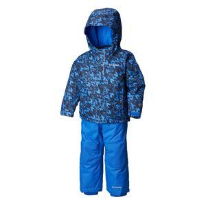 Columbia Boy's Buga Infant Snow Set Super Blue  - Super Blue Tweed - Size: 6MO - 12MO