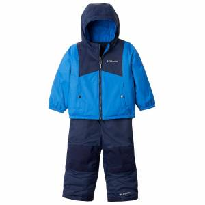 Columbia Infant Double Flake Snow Set  - Bright Indigo - Size: 12MO-18MO