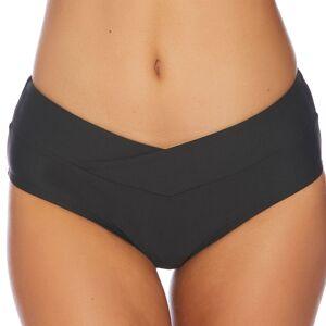 Athena Next By Athena Women's Vital Midrise Full Swim Bottom  - Black - Size: Small