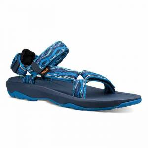 Teva Boy's Hurricane XLT 2 Sandals  - Kishi Dark Blue - Size: 6