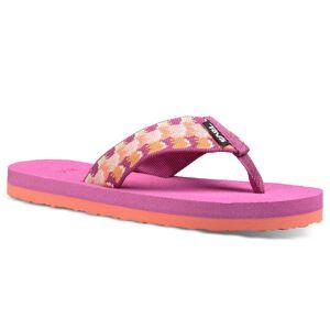 Teva Girl's Mush II Sandals  - Aqua Citrus - Size: 5