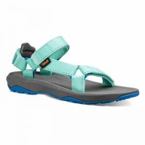 Teva Girl's Hurricane XLT 2 Sandals  - Delmar Sea Glass/Purple - Size: 1