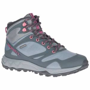 Merrell Women's Altalight Mid Waterproof Hiking Boots  - Monument - Size: 7.5