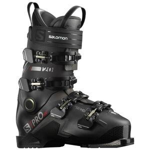 Salomon Men's S/Pro HV 120 Ski Boots '21  - Black/Red/Belluga - Size: 28.5