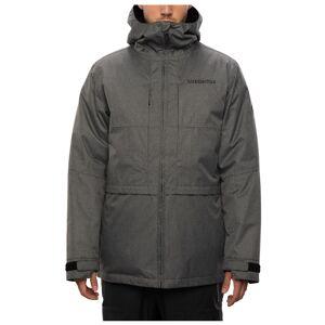 686 Men's Smarty 3-In-1 Form Snow Jacket  - Grey Melange - Size: Extra Large