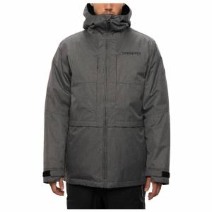686 Men's Smarty 3-In-1 Form Snow Jacket  - Grey Melange - Size: Small