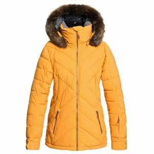 Roxy Women's Quinn Jacket  - Spruce Yellow - Size: Large