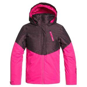 Roxy Girl's Frozen Flow Jacket  - Beetroot Pink - Size: 10