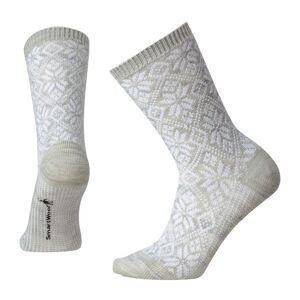 Smartwool Women's Traditional Snowflake Crew Socks  - Black - Size: Medium