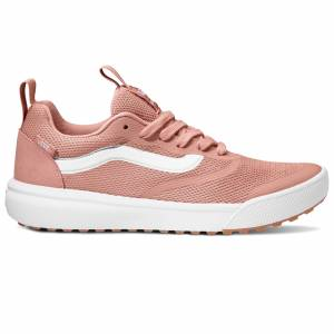Vans Women's Ultrarange Rapidweld Casual Shoes  - Deep Sea Coral/True White - Size: 7.5