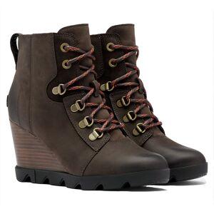 Sorel Women's Joan Uptown Lace Winter Boots  - Blackend Brown - Size: 8