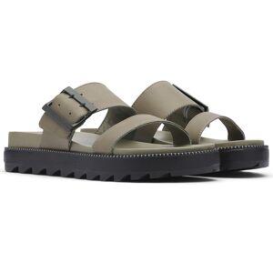 Sorel Women's Roaming Buckle Slide Sandals  - Sage - Size: 9